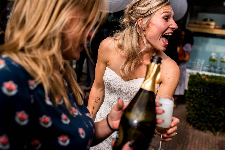 champagne Trouwfotograaf Amersfoort