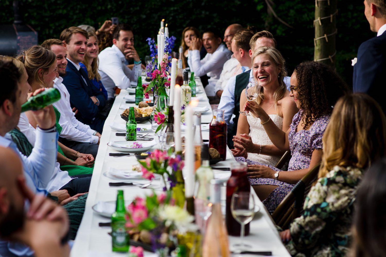 bourgondisch tafelen Trouwfotograaf Amersfoort