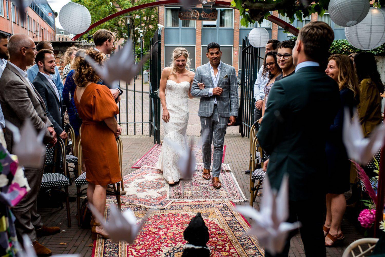 intieme bruiloft Trouwfotograaf Amersfoort