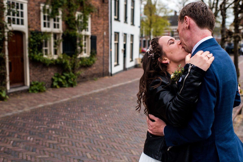 Trouwfotograaf binnenstad Amersfoort