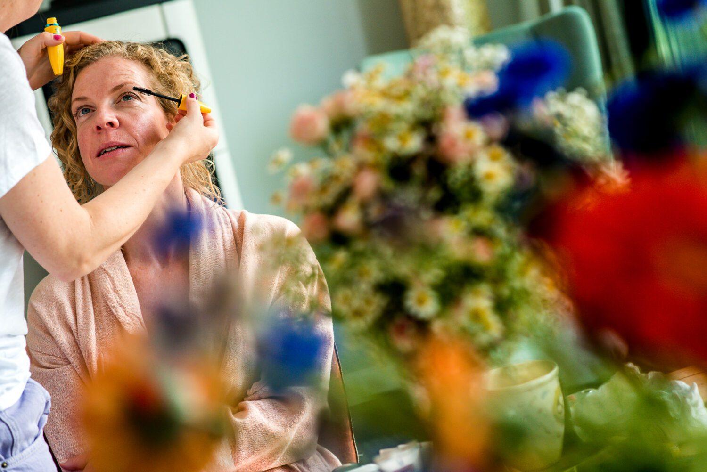 Bruidsmake-up | Voorbereidingen van de bruid