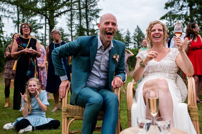 Festival wedding op de veluwe