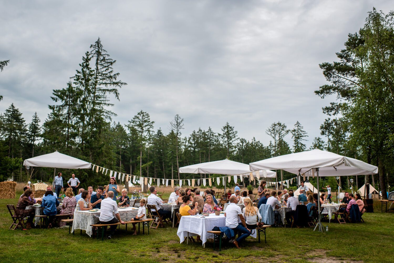 Festival bruiloft op de Veluwe Epe